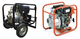Koshin Diesel Powered Centrifugal Pumps
