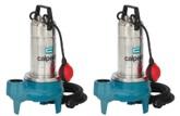 Calpeda GQS(M) Vortex Submersible Pumps