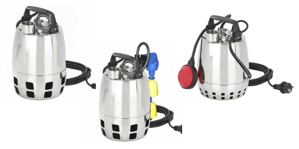 GXV25 Submersible Drainage Pumps
