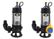 JS SK Sewage Single Channel Cutter Pumps 110v & 240v
