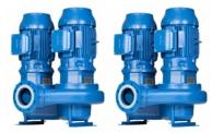 Lowara e-LNT Twin Stage In-line Pumps 4 Pole