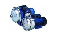 Lowara C Series Centrifugal Booster Pumps
