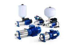e-HM..P (Technopolymer Impeller) Pumps 415V