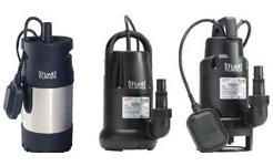Supersub and Diver Submersible Drainage Pumps