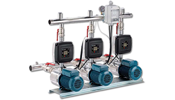 Easymat 3MXH Variable Speed Triple Booster Sets