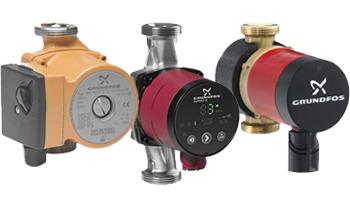 Comfort, Alpha and UPS/UPN Hot Water Circulators