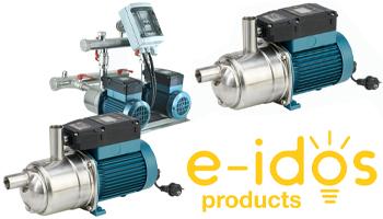 e-idos Series Pressurised Booster Pumps