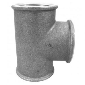 """3"""" (76mm) Brass Tee Female x Female x Female"""