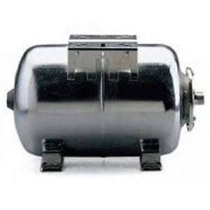 Lowara 60LH Horizontal Stainless Steel Expansion Tank - 10 Bar Rated