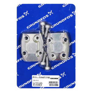 Grundfos Coupling Kit for CRN 1S/1 (stages 1-15), CRN 3 (stages 1-5), CRN 5 (stage 2), CRNE 1 (stages 1-6), CRNE 3 (stages 2-4), CRNE 5 (stages 12-16), MTR 3 (stages 30-36) and MTR 5 (stages 17-32)
