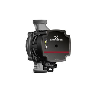 "Grundfos Alpha1 L 20-40N (150mm) 11/4"" bspm Hot Water Circulator 240v"