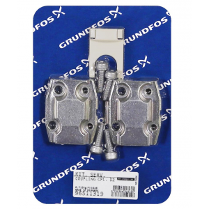 Grundfos Coupling Kit for CRN 10 (stages 3-6), CRN 15 (stage 2),CRN 20 (stage 2), CRNE 10 (stages 2-3), CRNE 15 (stage 1) and CRNE 20 (stage 1)
