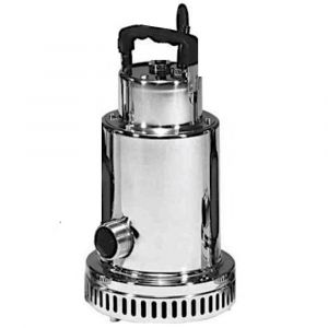 """Drenox 80-7 MAN - 1 1/4"""" Stainless Steel Submersible Pump Without Float 110v"""