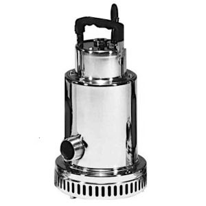 """Drenox 350-12 MAN - 1 1/4"""" Stainless Steel Submersible Pump Without Float 230v"""