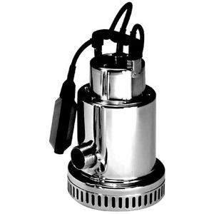 """Drenox 80-7 AUTO - 1 1/4"""" Stainless Steel Submersible Pump With Float 230v"""