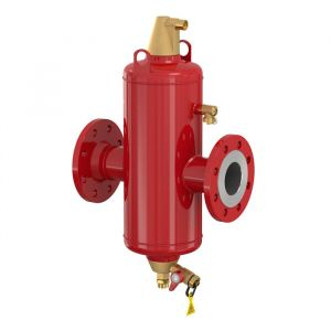 """Flamcovent Clean Smart 125F - 5"""" Flanged Inline Air & Dirt Separator 10 Bar"""
