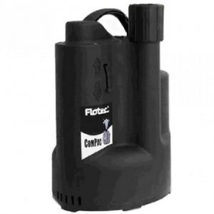 Flotec Compac 150 Submersible Water Drainage Pump With Integrated Float 240v