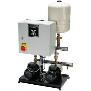 Stuart Turner ABB 0304 2H-SPC/M Variable Speed Horizontal Twin Booster Set