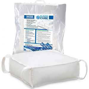 Flood Cube Water Barrier - 5x Packs of 4