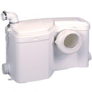 Saniflo Sanipump Ensuite Domestic Sanitary System for Toilet, Sink, Shower and Bidet 240V