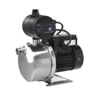 Grundfos JP5 (JP4-54) Self Priming Booster Pump c/w PM1-22 Pressure Manager 240V