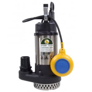"JS 250 AUTO - 1 1/2"" Submersible Water Drainage Pump With Float Switch 240v"
