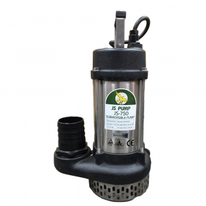 """JS 750 MAN - 3"""" Submersible Water Drainage Pump Without Float Switch 110v"""