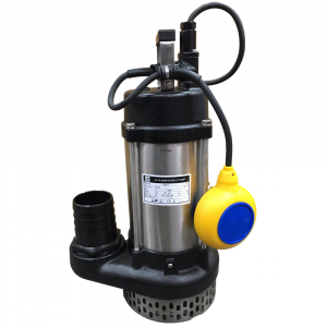 "JS 750 AUTO - 3"" Submersible Water Drainage Pump With Float Switch 240v"