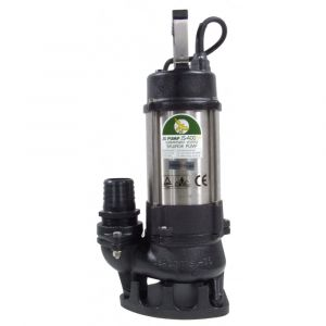 "JS 400 SV MAN - 2"" Submersible Sewage & Waste Water Pump Without Float Switch 240v"