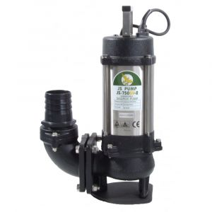"""JS 750 SV MAN - 3"""" Submersible Sewage & Waste Water Pump Without Float Switch 240v"""