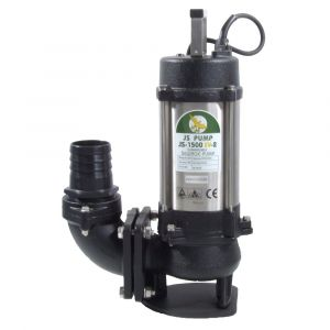 """JS 1500 SV MAN - 3"""" Submersible Sewage & Waste Water Pump Without Float Switch 240v"""