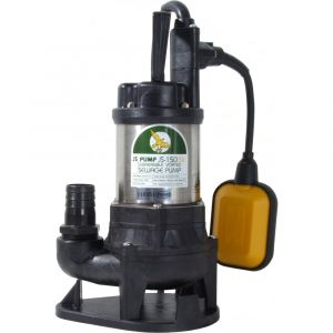 """JS 150 SVA AUTO - 1 1/4"""" Submersible Sewage & Waste Water Pump With Float Switch 110v"""