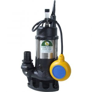 "JS 250 SV AUTO - 1 1/2"" Submersible Sewage & Waste Water Pump With Float Switch 240v"