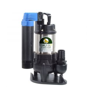 "JS 150 SVAG AUTO - 1 1/4"" Submersible Sewage & Waste Water Pump With Tube Float Switch 240v"