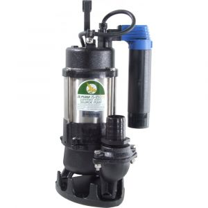 """JS 250 SV AUTO - 1 1/2"""" Submersible Sewage & Waste Water Pump With Tube Float Switch 110v"""