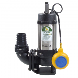 "JS 1500 SV AUTO - 3"" Sewage & Waste Water Pump With Float Switch 240v"