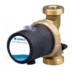 "Lowara Ecocirc Pro 15-1/110 R 1 1/4"" Bronze Circulator with Temp Control 240v"