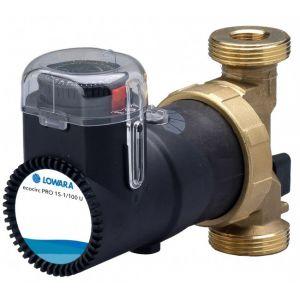 "Lowara Ecocirc Pro 15-1/65 RU 1/2"" Bronze Circulator with Temp Control & Timer 240v"