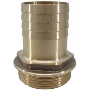 Brass Hose Tail - Male