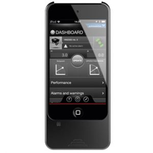 Grundfos GO MI 201 I-Pod with Dongle and Cover fitted