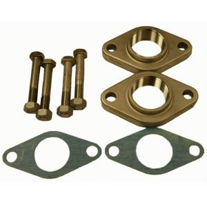 2 Bolt Oval Flange Kit