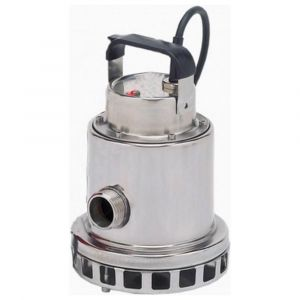 """Omnia 80-5 MAN - 1 1/4"""" Stainless Steel Vortex Submersible Pump Without Float 230v"""