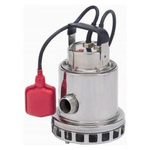 """Omnia 160-7 AUTO - 1 1/4"""" Stainless Steel Vortex Submersible Pump With Float 240v"""