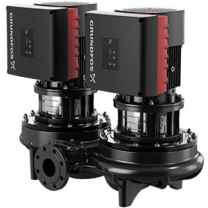 TPED 125-160/4 Series 1000 7.5kW Single Stage Twin Head 4 Pole Variable Speed In Line 415v