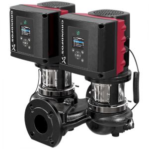 TPE3 D 50-180-S A F A BQQE 1.1kW Single Stage Twin Head Variable Speed In Line With DP+T Sensor 240v
