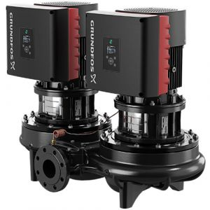 TPED 100-65/4-S Series 2000 1.1kW Single Stage Twin Head 4 Pole Variable Speed In Line 415v