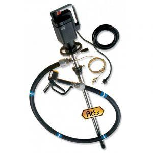 Lutz Drum Pump Set for Hazardous Fluids (Complete Drum Drainage) MEll 3 110v Motor 1200mm Immersion Depth