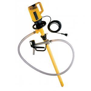 Lutz Drum Pump Set for Acids MI 4 110v Motor 1200mm Immersion Depth