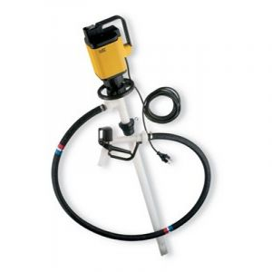 Lutz Drum Pump Set for Concentrated Acids & Alkalis MAll3 110v Motor 1000mm Immersion Depth
