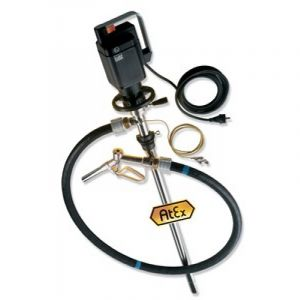 Lutz Drum Pump Set for Solvents (Complete Drum Drainage) MEll 3 110v Motor 1000mm Immersion Depth